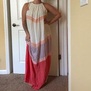 Beautiful white linen maxi dress brand new!